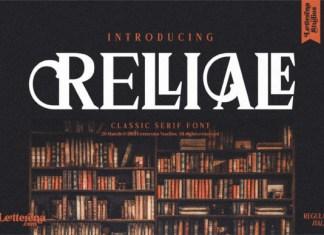 RELLIALE Font