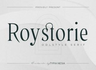 Roystorie Font