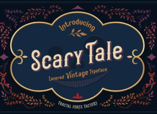Scarytale Font
