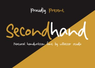 Secondhand Font