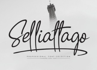 Selliattago Font