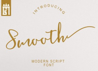 Smooth Font