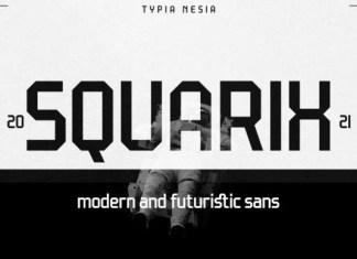 Squarix Font
