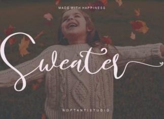Sweater Font