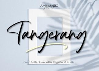 Tangerang Font