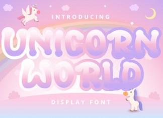 Unicorn World Font