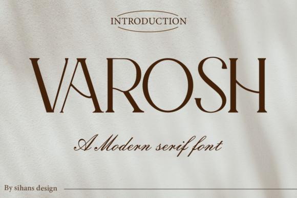 Varosh Font