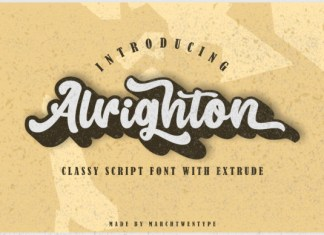 Alrighton Font
