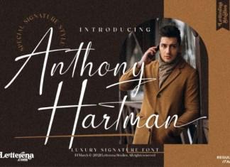 Anthony Hartman Font