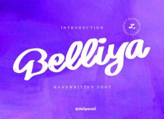 Belliya Font