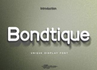 Bondtique Font