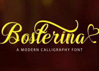 Bosterina Font