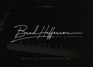 Brad Hefferson Font