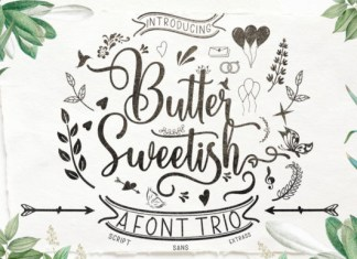Butter Sweetish Font