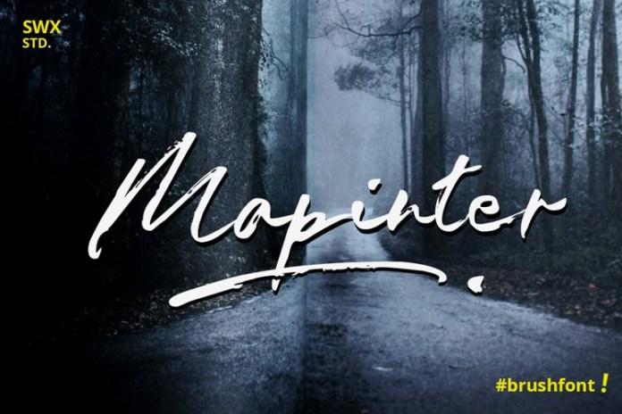 Mapinter Font