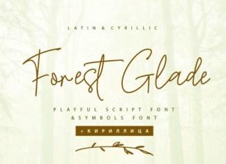 Forest Glade Font