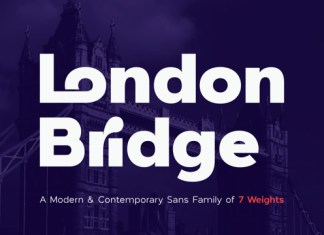 London Bridge Font