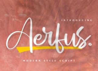Aerfus Font
