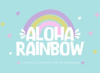 Aloha Rainbow Font
