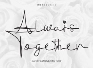 Always Together Font