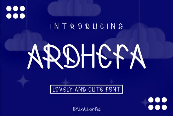 Ardhefa Font