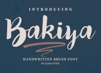 Bakiya Font