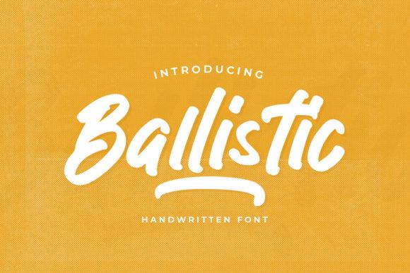 Ballistic Font