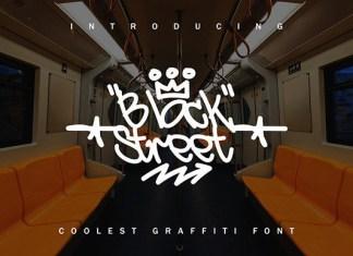 BlackStreet Font