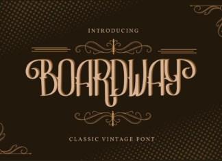 Boardway Font