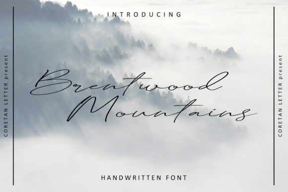 Brentwood Mountains Font