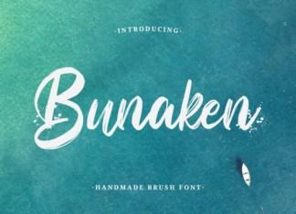 Bunaken Font