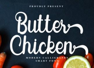 Butter Chicken Font