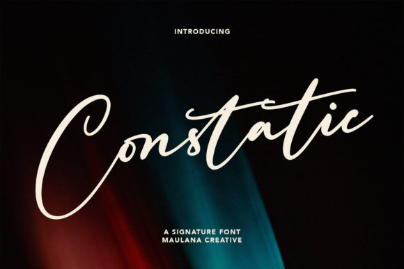 Constatic Font