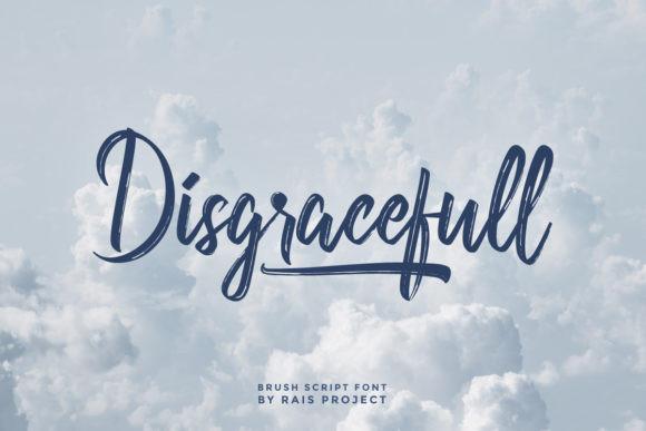Disgracefull Font