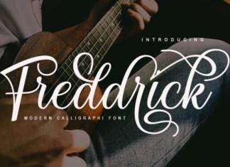Freddrick Font