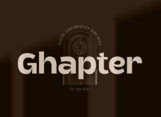Ghapter Font