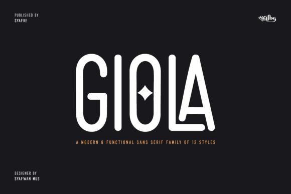 Giola Font
