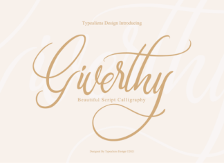 Giverthy Font