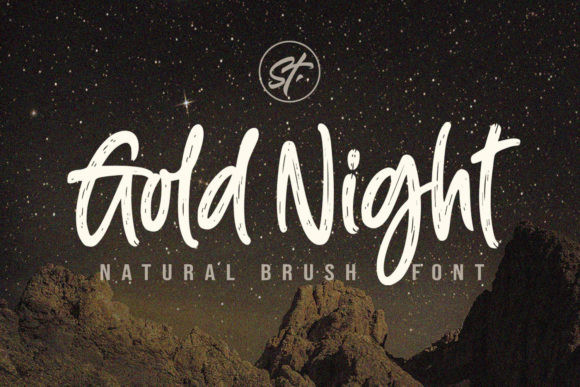 Gold Night Font