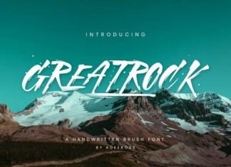 Greatrock Font
