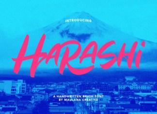 Harashi Font