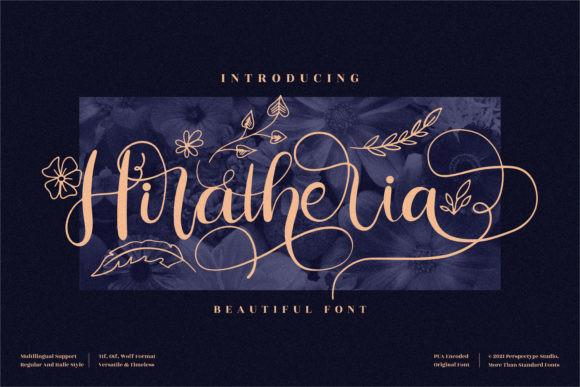Hiratheria Font