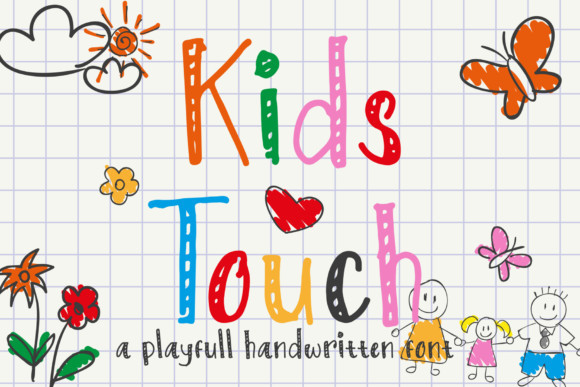 Kids Touch Font