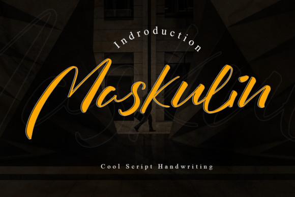 Maskulin Font