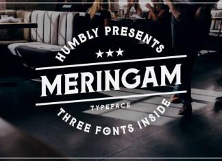Meringam Font