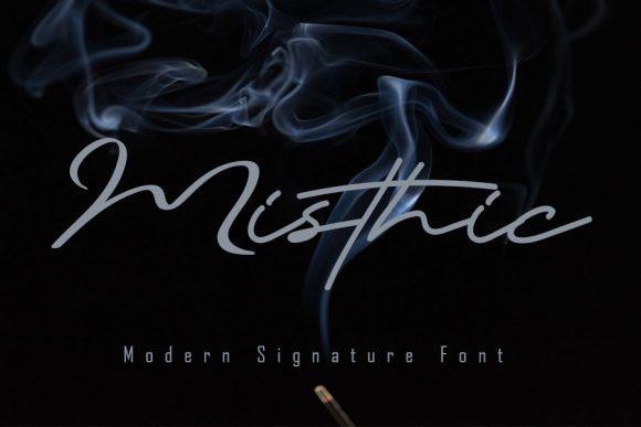 Misthic Font