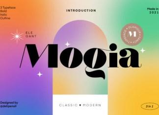 Mogia Font