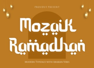 Mozaik Ramadhan Font