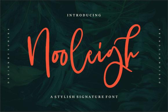 Nooleigh Font