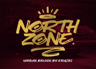 North Zone Font